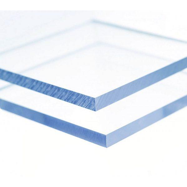 Planchas de policarbonato compacto de 3x2,1 m.